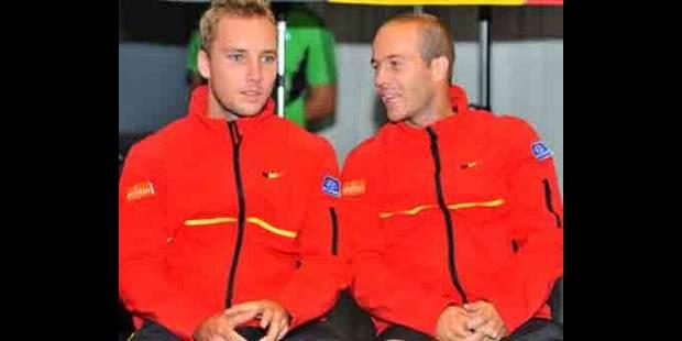 Steve Darcis et Olivier Rochus sortis au 1er tour du double - La DH