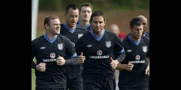 Lampard blessé et incertain pour le tournoi - La DH