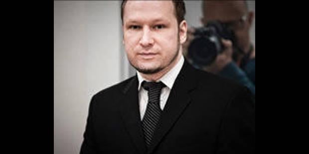 """Breivik, """"Intelligent, sociable et vaniteux"""" - La DH"""