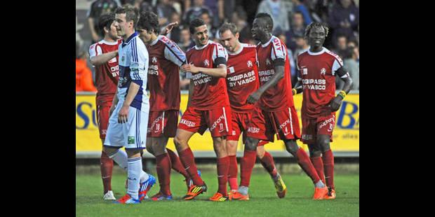 PO1: Lendemain de veille difficile pour Anderlecht battu à Courtrai (2-0) - La DH