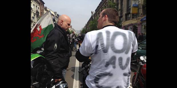 Manifestation de motards en colère - La DH