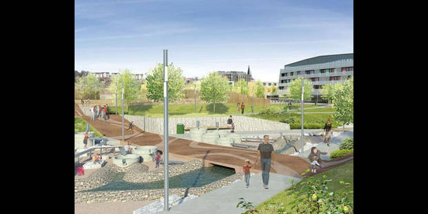 Un parc au coeur de la ville à Seraing - La DH