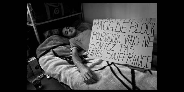 Maggie De Block fustige des grévistes de la faim - La DH
