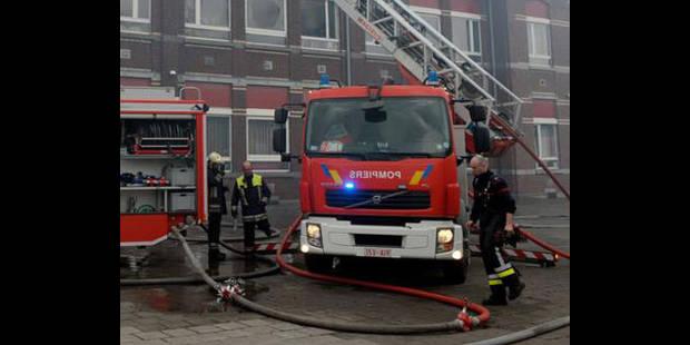 Charleroi: un cocktail Molotov à l'origine de l'incendie de Gilly - La DH