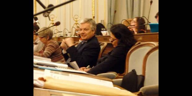 Didier Reynders,  citoyen d'honneur - La DH