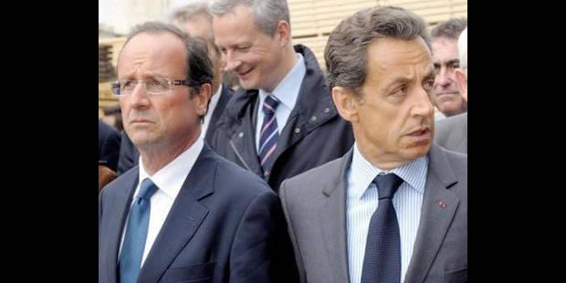 Sarko court toujours après Hollande - La DH