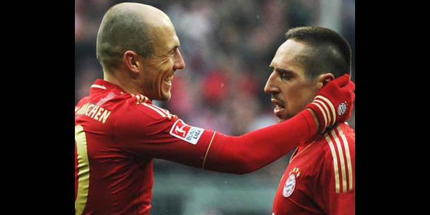 Allemagne/23e journée: Ribéry propulse le Bayern à la 2e place - La DH