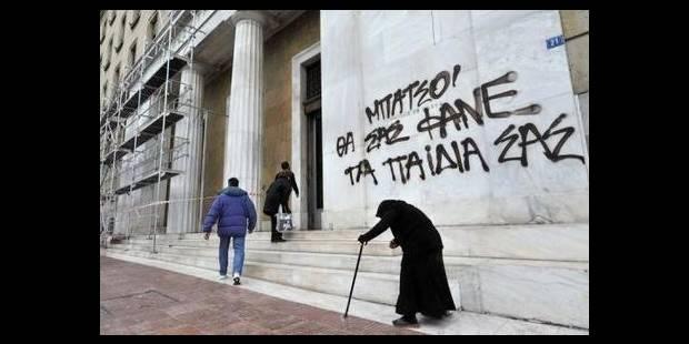 Vivre avec le salaire minimum grec ? Impossible... ou presque - La DH