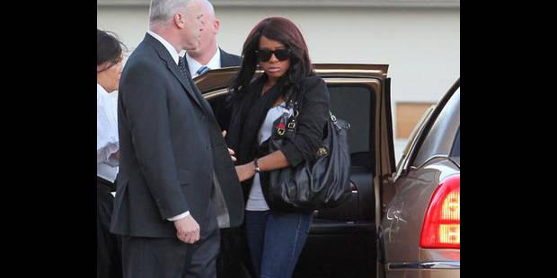 La fille de Whitney Houston droguée après l'enterrement - La DH