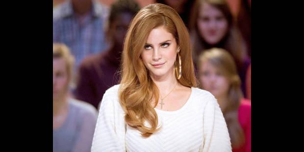 """Lana Del Rey refroidie par son passage au """"Grand Journal"""" - La DH"""