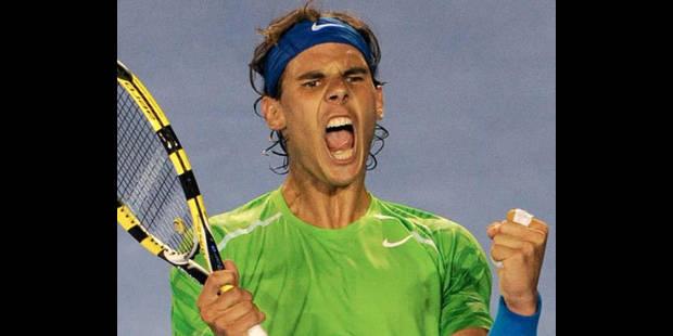 Nadal rejoint Federer dans le dernier carré - La DH