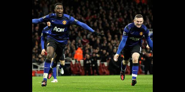 Manchester United reste dans la course en battant Arsenal (1-2) - La DH