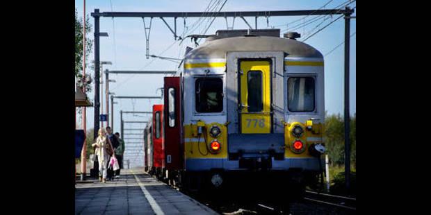 Une personne happée par un train près de la gare de Waremme, probablement un suicide - La DH