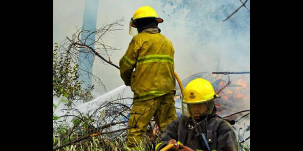Action des pompiers de Liège lundi - La DH