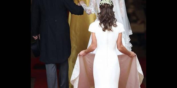 La robe de Pippa a marqué l'année 2011 - La DH