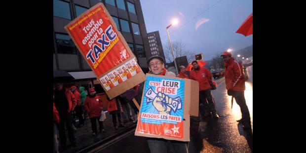 Mobilisation massive à Liège - La DH