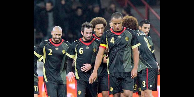 Les Diables, 41ème du classement de la FIFA - La DH