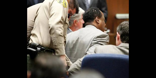 Procès Jackson: le Dr Murray condamné à 4 ans de prison - La DH