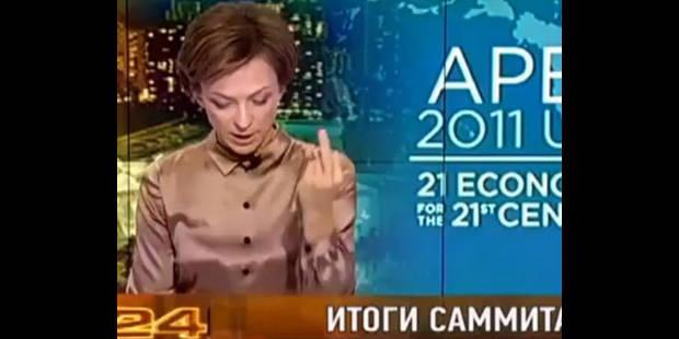 Une journaliste fait un doigt d'honneur à l'évocation d'Obama - La DH