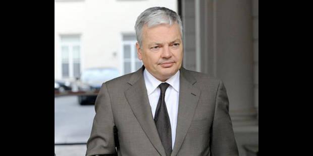 """Reynders sur Dexia :  """"Les négociations se feront uniquement avec la Commission européenne"""" - La DH"""