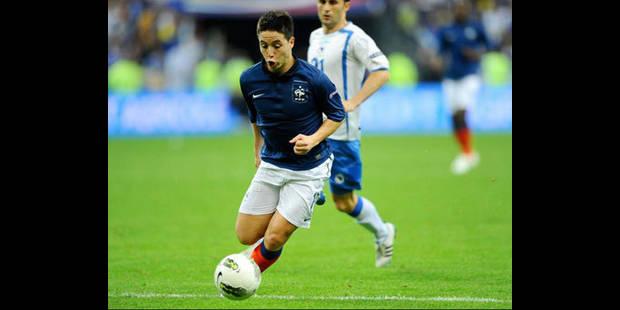 Samir Nasri forfait contre la Belgique - La DH