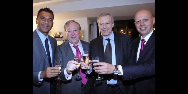 Yves Leterme et Ruud Gullit membres d'honneur de l'Union belge de football - La DH