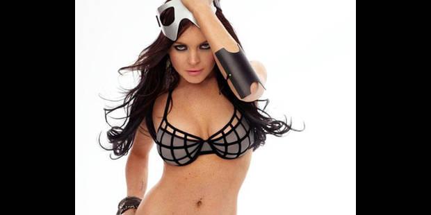 Lindsay Lohan nue  pour Playboy!