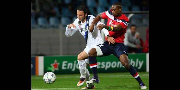 L'Inter plus réaliste que Lille (0-1)