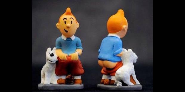 Prison et amende pour contrefaçon de figurines de Tintin - La DH