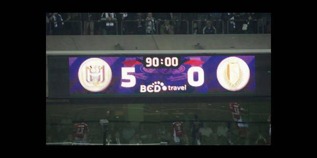 Anderlecht surclasse le Standard : 5-0 - La DH