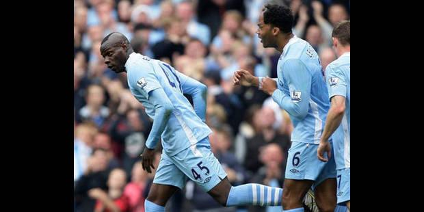 Manchester City prend seul la tête en battant Aston Villa