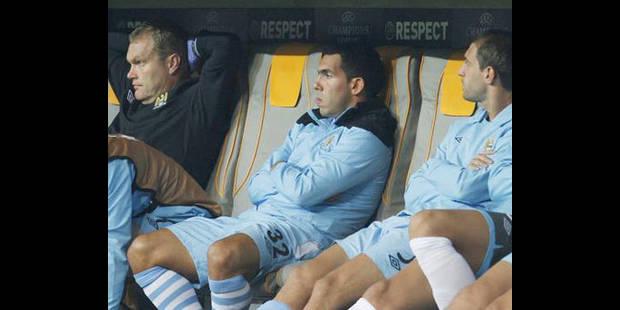 Manchester City suspend Carlos Tevez deux semaines - La DH