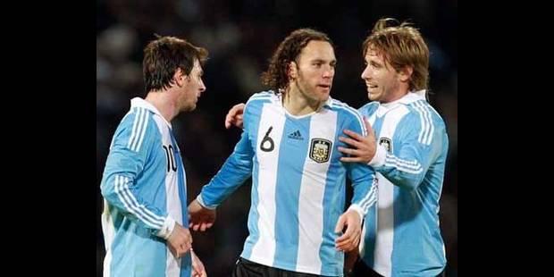 Lucas Biglia pas repris avec l'Argentine - La DH