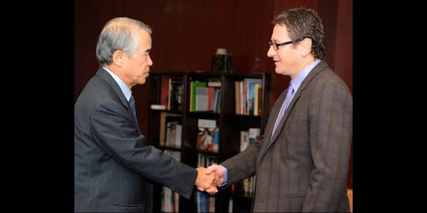 Le président du Beerschot présente ses excuses à l'ambassadeur du Japon - La DH