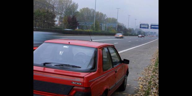 La Flandre va permettre d'utiliser la bande d'arrêt d'urgence durant les heures de pointe - La DH
