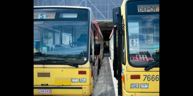 Grève au TEC à La Louvière: le renouvellement de bus est en cours - La DH
