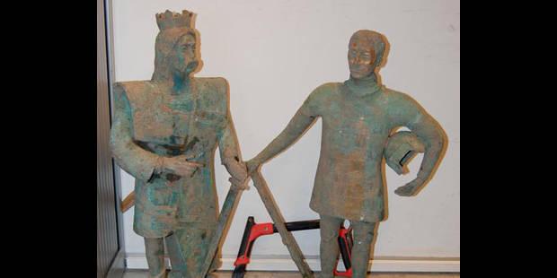 Statues retrouvées! - La DH