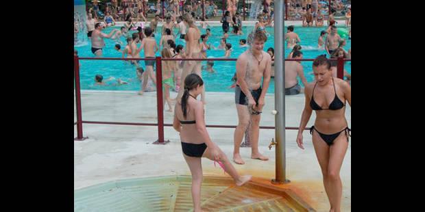 Moins de  16.000 visiteurs � la piscine