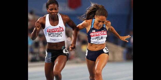 Mondiaux Daegu : victoire de Amantle Montsho sur 400m - La DH