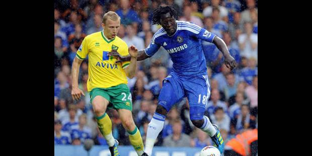 Chelsea bat Norwich (3-1), 18 minutes de jeu pour Lukaku