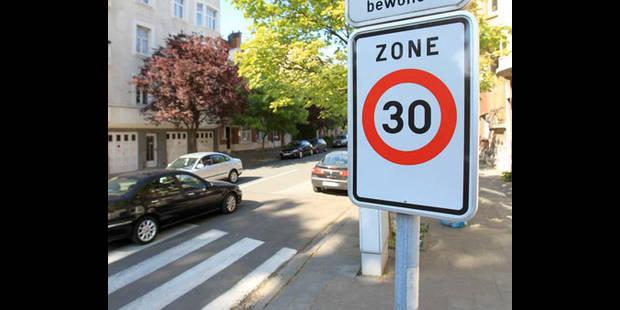 Le respect des zones 30 dépend de leur qualité - La DH