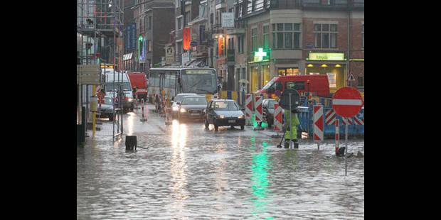 Lents investissements dans les bassins d'orage - La DH