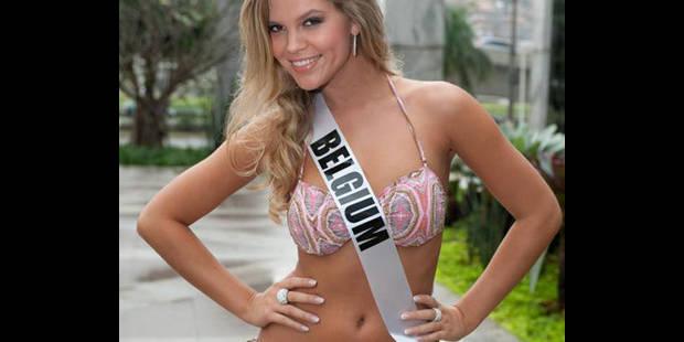 Miss Belgique est au Brésil