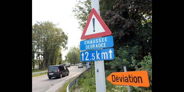 Travaux sur l'E42 entre Francorchamps et Malmedy - La DH