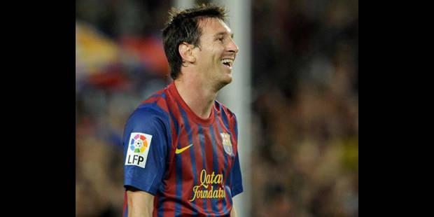 L'Argentin Lionel Messi (Barcelone) �lu meilleur joueur europ�en de l'ann�e