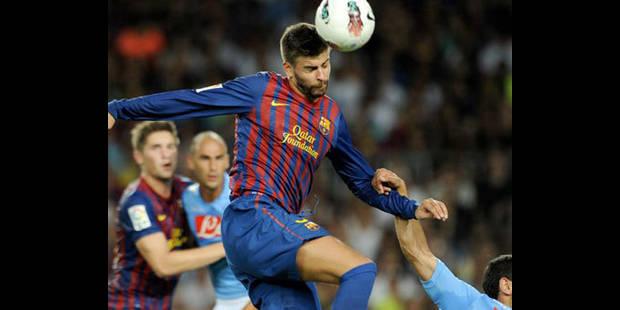 FC Barcelone : Piqué out trois semaines - La DH