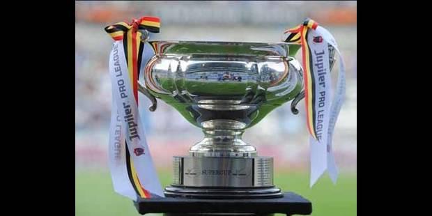 Le tirage au sort de la Coupe de Belgique - La DH