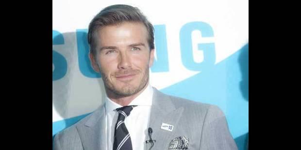 Les Beckham distribuent leurs cadeaux