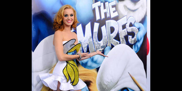 Katy Perry, cette Schtroumpfette! - La DH
