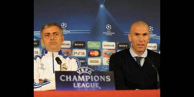 Pour Zidane, Mourinho est l'entraîneur dont a besoin le Real Madrid - La DH